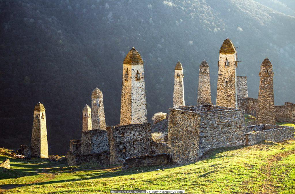 Северная Осетия и Ингушетия на выходные