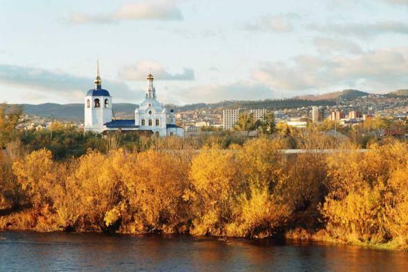 Улан-удэ осенью