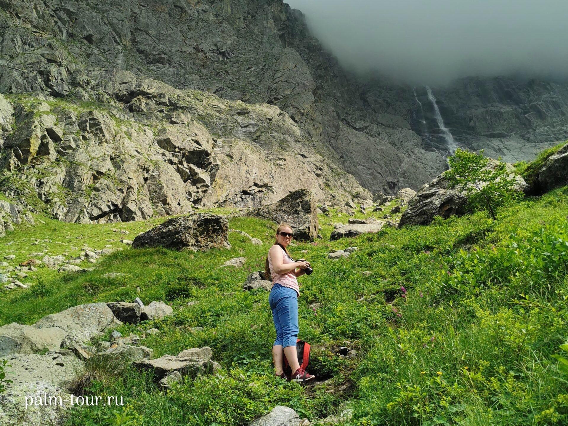 Водопады Осетия